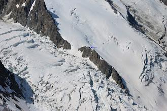 Photo: Glaciar de Bossons completamente roto Foto Ch