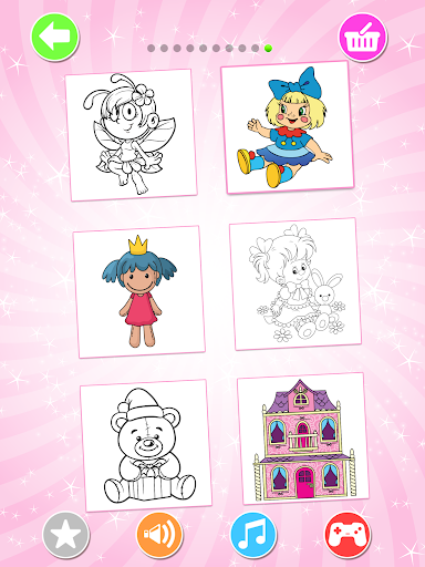 Lol Dolls Coloring Book, Lols & Dresses screenshot 8