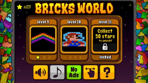 Bricks World - Breakout