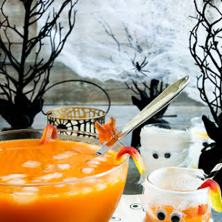 Creepy Halloween Punch.