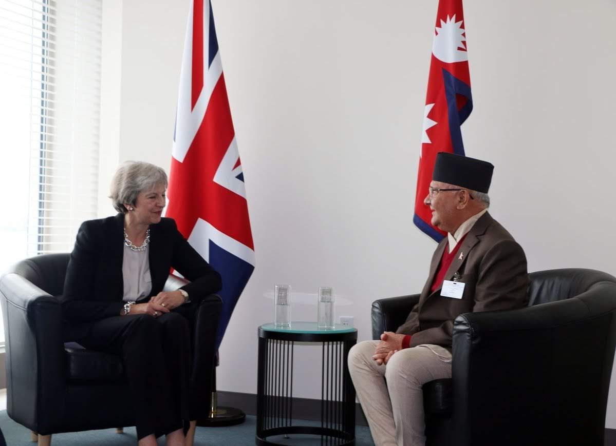 ब्रिटिश गोरखाका मुद्धाबारे बेलायती तथा नेपाली प्रधानमन्त्रीबीच वार्ता