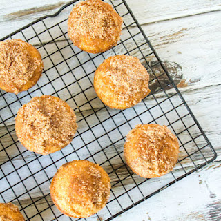 Pumpkin Pie Spice Coffee Cake Muffins