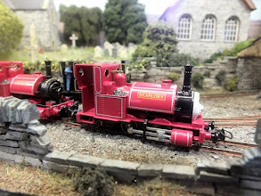 Photo: 016 Skarloey as he comes straight from the Bachmann box .
