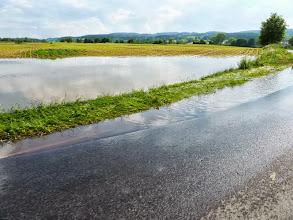 Photo: Das Hochwasser hat auch hier seine Spuren hinterlassen