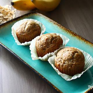 Banana Oatmeal Breakfast Muffins.