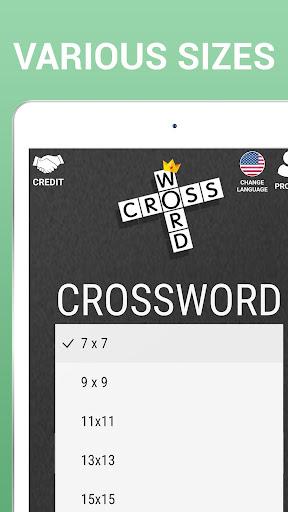 Crossword Puzzle Free Classic Word Game Offline screenshots 15