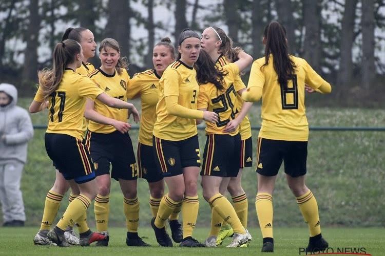 Red Flames U19 al in voorbereiding op EK in Schotland