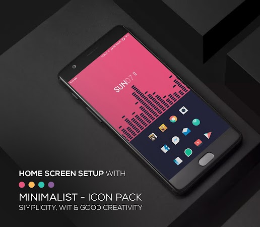 Minimalist – Icon Pack v1.2.3 [Patched]