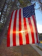 Photo: Sunrise Flag