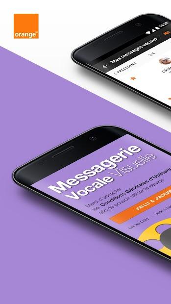 Messagerie vocale visuelle Android App Screenshot