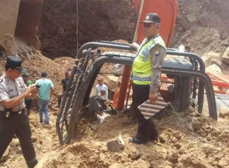 Tambang batu wilayah Kendal Ngawi