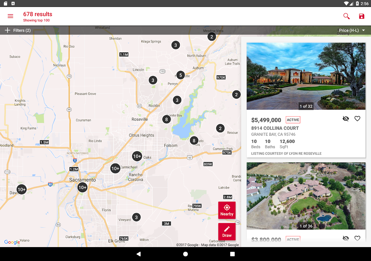 Lyon Real Estate- screenshot