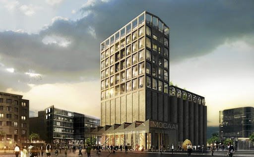 Art attack:  Zeitz MOCAA, a  contemporary  art museum housed in a converted silo at Cape Town's V&A Waterfront,   is set to open in September.     Picture: SUPPLIED