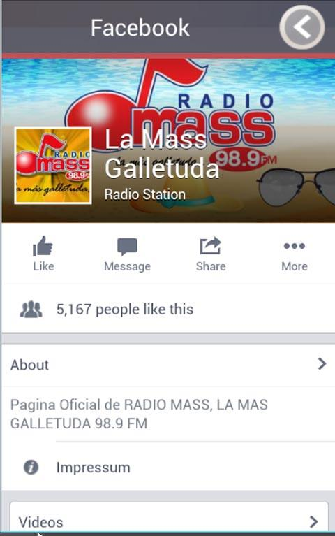 Radio Mass Frontera- screenshot