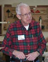 Photo: MCW Member Don Couchman is our demonstrator for this evening.  Don was profiled in the August 2007 MCW Newsletter. He has been turning since 1993 and has made some very nice bowls, among other things.  Tonight, he will discuss the process of making writing pens.  [07.12]