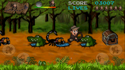 Retro Pitfall Challenge apkpoly screenshots 5