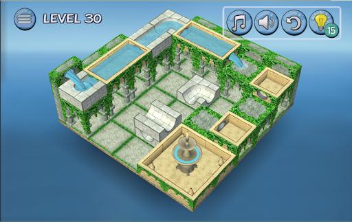 Flow Water Fountain 3D Puzzle Screenshots 11