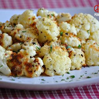 Garlic Parmesan Roasted Cauliflower – Low Carb, Gluten-Free, Primal