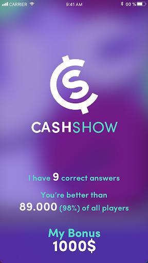 Cash Show - Win Real Cash!  screenshots 5