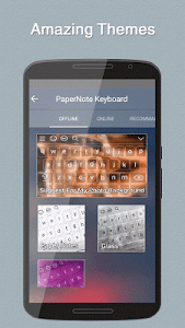 Paper Notes Keyboard Theme screenshot 5