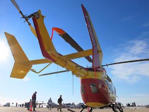 Photo: Pour compléter le parc, le célèbre hécoptère Eurocopter EC145 bi-turbine