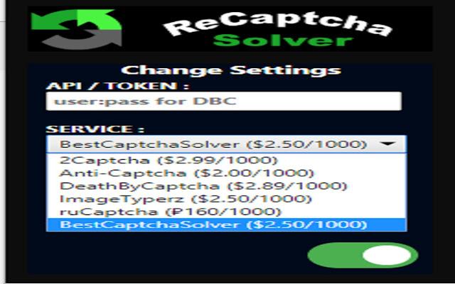ReCaptcha Solver