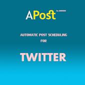 APost: Schedule Twitter Post