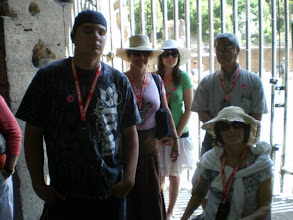 Photo: Listening to tour guide explanation