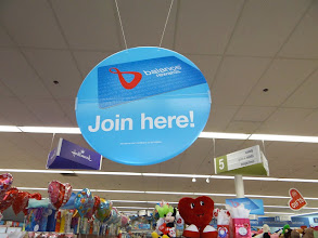 Photo: I noticed right away the sign for the Walgreens Balance Rewards. I was already part of this program, and have been saving money on my prescriptions and items in the store for quite some time now. I love the rewards program and how it helps me stay #HappyHealthy!
