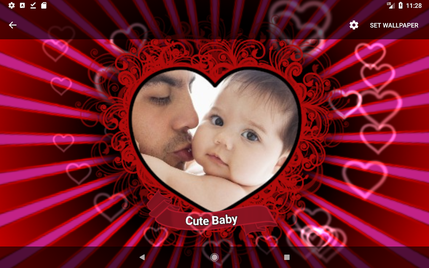 Screenshots of Love Photo Heart - Free for iPhone