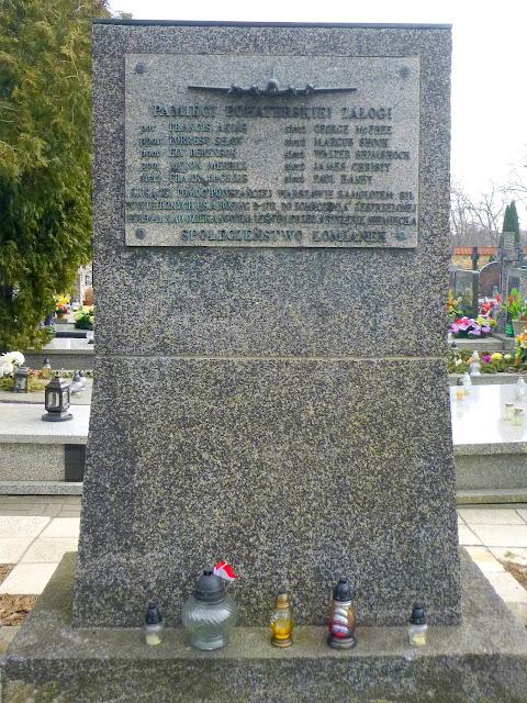 cmentarz pomnik Kiełpin