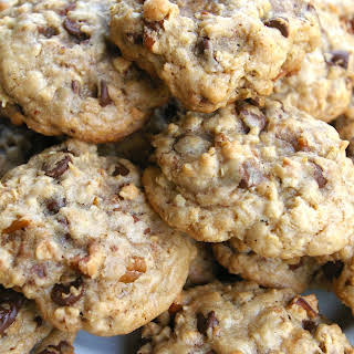 Oatmeal Chocolate Chip Pecan Cookies.