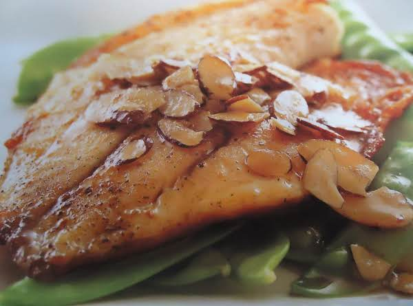 Pan Seared Tilapia W/ Almond Browned Butter Recipe