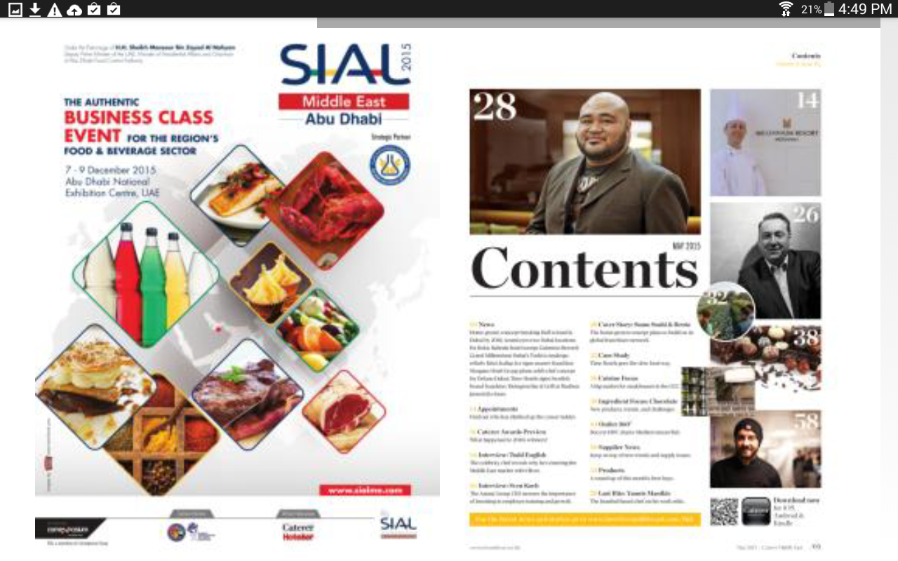 Caterer Middle East- screenshot