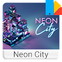Neon City Free Xperia™ Theme icon