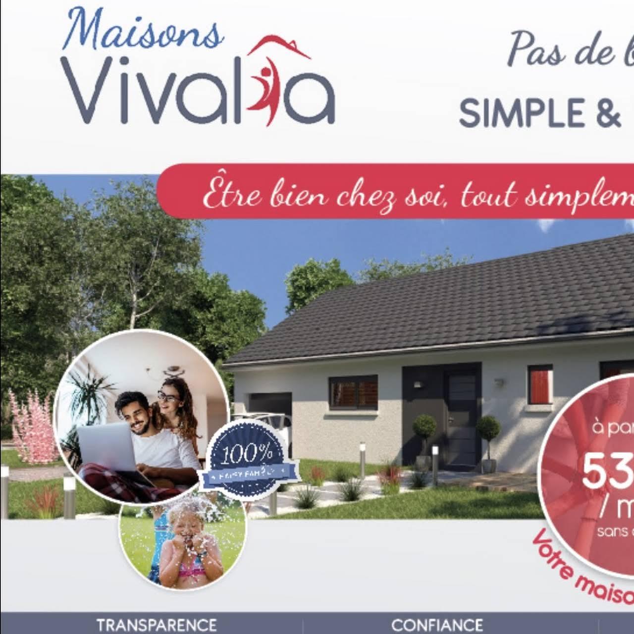 Constructeur De Maison Chartres maisons vivalia chartres - constructeur de maisons
