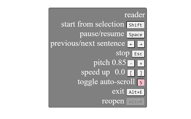Read aloud with auto language detection
