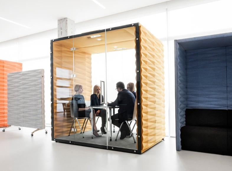 exemple de box acoustique pour réunion