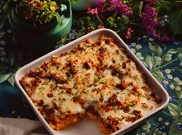 Chili Enchilada Casserole Recipe