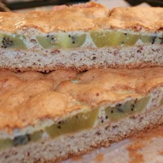 Kiwi Almond Cake.