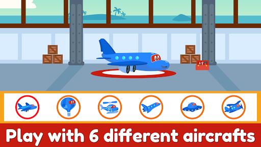 Carl Super Jet:  Airplane Rescue Flying Game screenshots 4