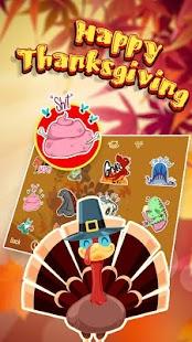 Happy Thanksgiving Theme&Emoji Keyboard - náhled