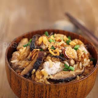 Yam Rice Recipe (芋头饭).