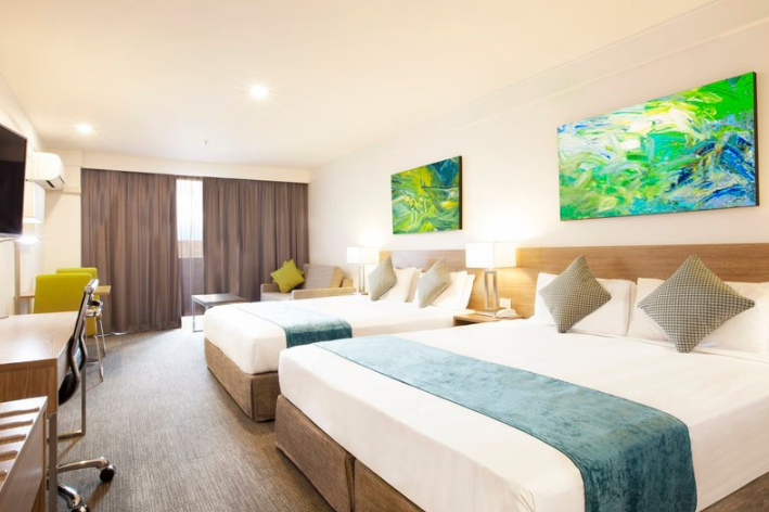 Large Family room at the Metro Aspire Hotel Sydney