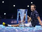 De 24-jarige Daniil Medvedev is een opkomend talent in de tenniswereld