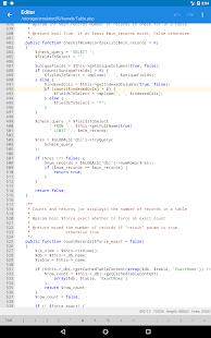 KSWEB: server + PHP + MySQL Capture d'écran
