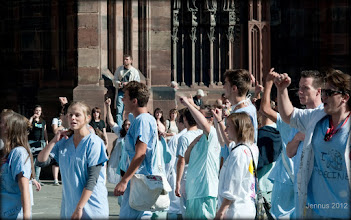 Photo: Medical students in France. Strasbourg in Alsace.