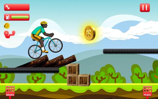 Bike Man Cycling Stunt Tricky Races 1.0 screenshots 2