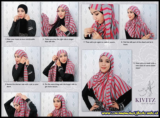 125++ Hijab Fashion Tutorial
