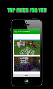 Top Furniture Mod 2 for MCPE - náhled
